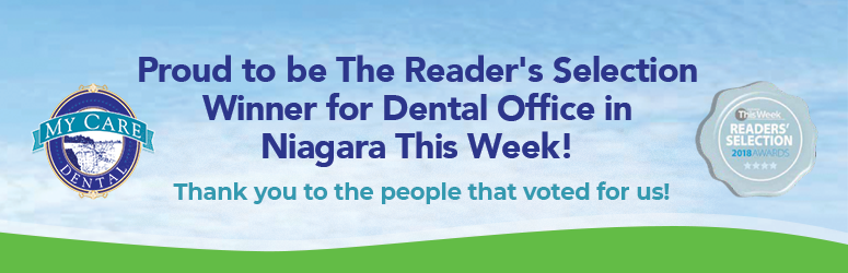 The Reader's Selection Winner for Dental Office in Niagara This Week!