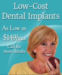 Low-Cost Dental Implants