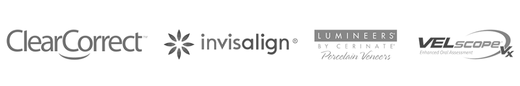 Provided Services: ClearCorrect, Invisalign, Lumineers, VelScopr